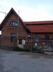 Komunitní centrum Slabčice - se střechou