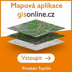 TopGis geo portál banner