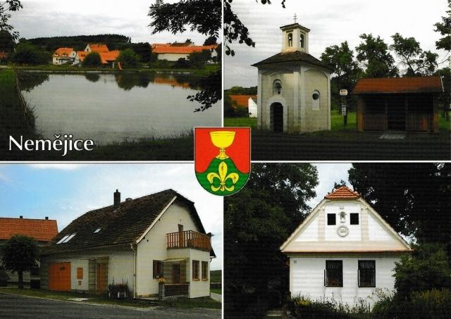 Pohlednice Němějice
